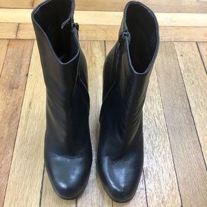 Leather Aldo Booties